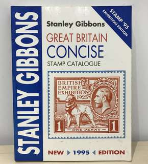 1995 Stanley Gibbons Great Britain Concise Stamp Catalogue
