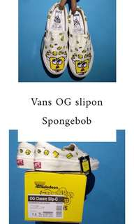 Vans OG slipon Spongebob