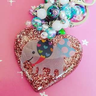 Cute Elephant Keychain / Bag Charm