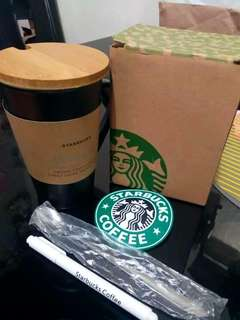 STARBUCKS' WRITEABLE BIG MUG + FREEBIES