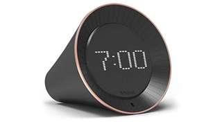 1180. Vobot Smart Alarm Clock with Amazon Alexa[Touch-Initiate], 5W Speaker, LED Display, White Noise Machine, Timer/Date/Weather/Daily News/Radio/Music(Amazon Music, iHeartRadio, TuneIn etc)