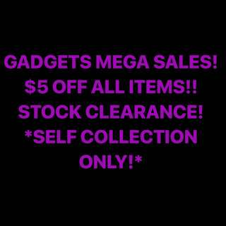 $5 OFF ALL ITEMS LISTED!!!