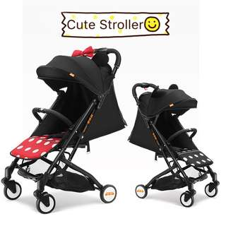 Doleson Lightweight & Foldable Cabin Size Stroller