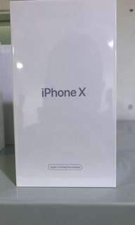 IPHONE X 256GB BLACK AND WHITE CPO. APPLE REFURBISHED