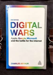 # Highly Recommended《Bran-New + Comprehensive Analysis Of The Battle Between Apple, Google and Microsoft.》Charles Arthur - DIGITAL WARS : Apple, Google, Microsoft And The Battle For The Internet