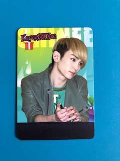 (包郵) Key SHINee Yes卡 / Yes Card