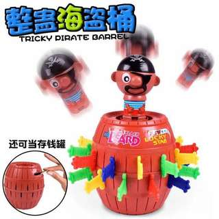 Tricky Pirate Barrel