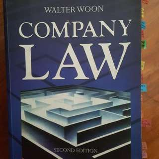 Company Law 2nd Edition