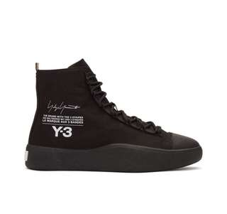 Y-3 Black Bashyo High-Top