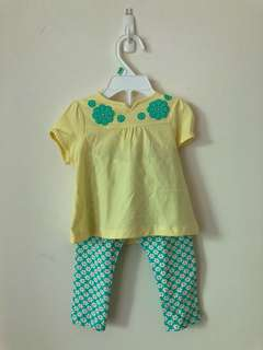 Brand New Poney Baby Top and Pants