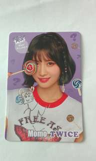 Momo Twice簽名閃卡(what is love?)