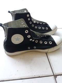 Converse CT Black with skyblue strech