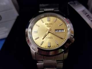全新原裝精工全自動機械錶