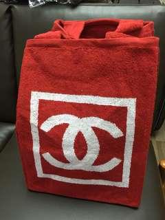 Chanel beach towel set 山茶花
