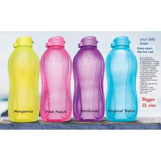 Tupperware Brands Eco Bottle BUY ONE (1) eco bottle 2L get FREE TWO (2) eco bottle 1L