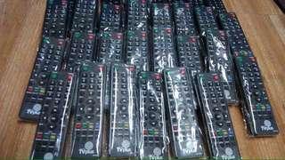 Tv plus remote (w/free batteries)