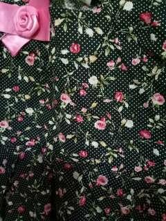 Polka dot dress 3pc set