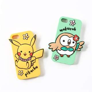 Pokemon 3 coins q版iphone 7/8 soft case