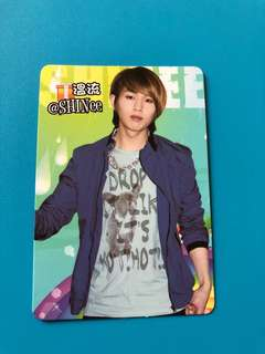 (包郵) 溫流 SHINee Yes卡 / Onew Yes Card