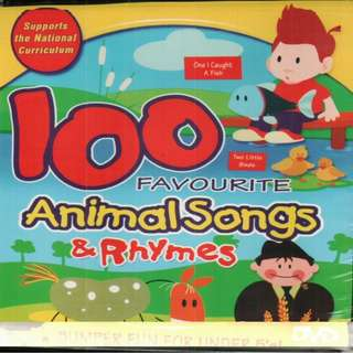 100 Favourite Animal Songs & Rhymes DVD