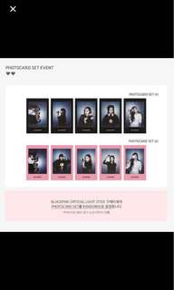 WTB Blackpink Light Stick Photocards