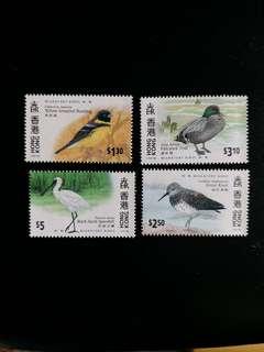 香港郵票 全新鳥類郵票