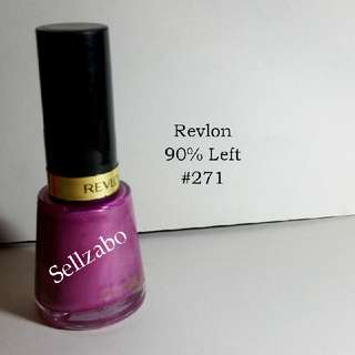 9/10 Revlon Purple Colour Nails Polish Finger Fingernails Toes Manicure Pedicure Care Sellzabo #271