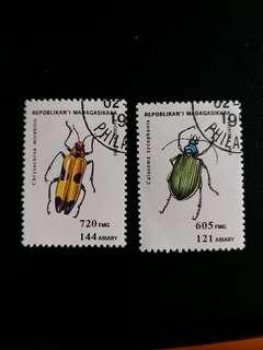 馬達嘉斯加郵票 已銷郵票