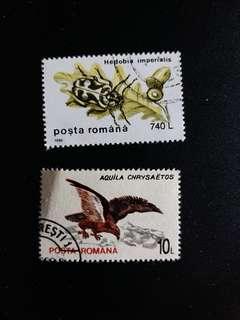 羅馬尼亞郵票 已銷郵票