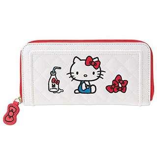 Authentic Hello Kitty Long Zip Wallet (I'm Hello Kitty)