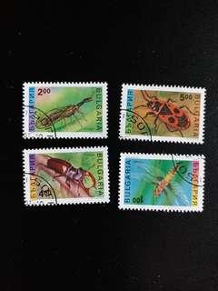 保加利亞郵票 已銷郵票