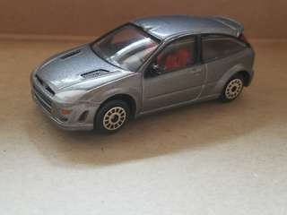 Realtoy 1:64 Ford Focus  RS silver