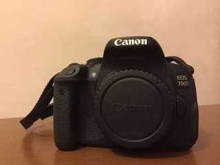 Canon 700D (Body only + Extra Ori battery)