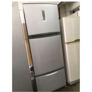 3 Pintu Freezer Toshiba Refrigerator Peti Sejuk Refurbish Recondition Ais Ice Fridge