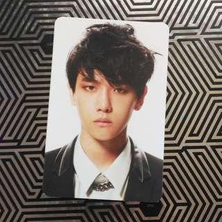 Overdose Baekhyun Photocard