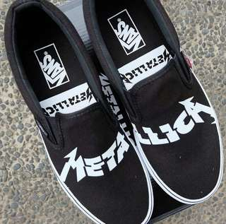 "Vans Slip On x Metallica ""Black/True White"""