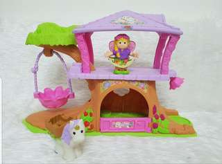 LITTLE PEOPLE(Fisher price) Tree House Big