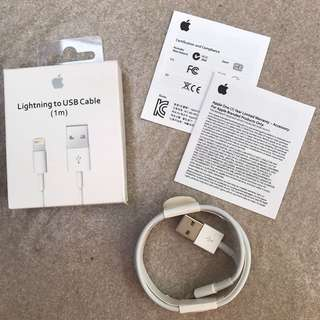 Kabel data iPhone apple original lightning cable