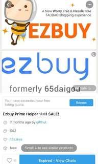 🚚 Prime Ezbuy Helper 👍Feedback
