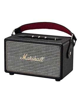 BNIB Marshall Kilburn Portable Speakers, Black