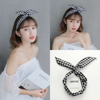 Korean rabbit ear headband ✨