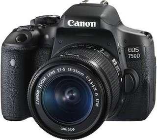 Canon Eos 750D Bisa Kredit