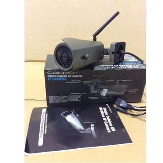 Brand New COCOON Single outdoor HD wireless IP Camera