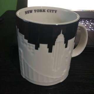 New York relief mug
