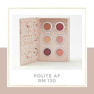 Colourpop Polite AF Shadow Kit