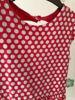 Red polka dot dress - Carter's