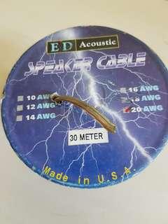 Premium Acoustic Speaker Cable   #sam2