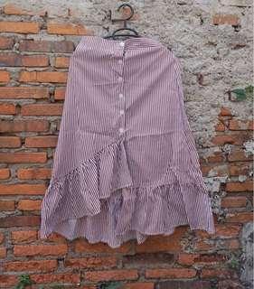 Choco Stripes Skirt