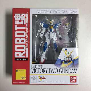 Bandai The Robot Spirits Side MS R089 Victory Two Gundam