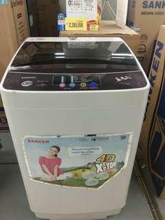 Kredit mesin cuci sanken 1 tabung. Promo dp 0%
